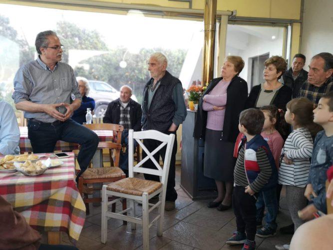 Χωριά των Μουσούρων επισκέφθηκε ο Γιάννης Μαλανδράκης
