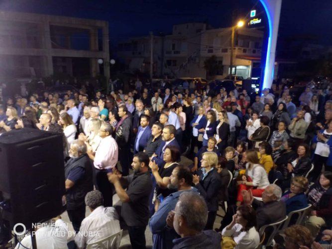 Εγκαινιάσθηκε το εκλογικό κέντρο του Γιάννη Μαλανδράκη