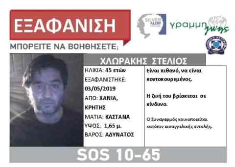 Δύο άτομα αγνοούνται στην Ανατολική Κρήτη