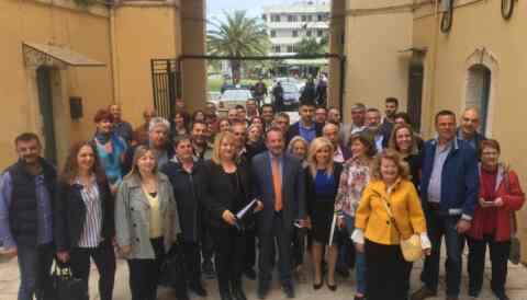 Ο Γρηγόρης Αρχοντάκης κατέθεσε 97 υποψήφιους στο Πρωτοδικείο Χανίων
