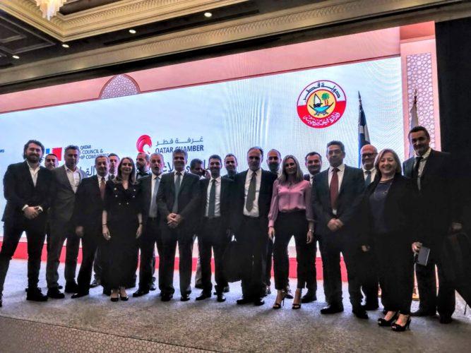 Σημαντικές επαφές της διοίκησης του Επιμελητηρίου Χανίων στο Κατάρ