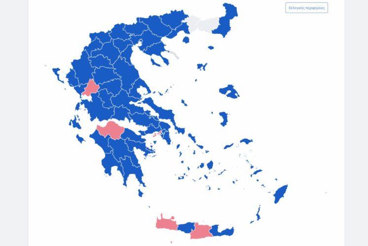 Ευρωεκλογές 2019: Οι πρωτιές και τα ποσοστά ΝΔ – ΣΥΡΙΖΑ