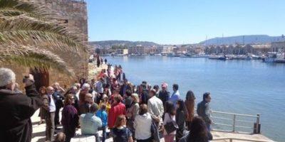 Ξενάγηση στο φάρο Χανίων και στη μόνιμη έκθεση αρχαίας και παραδοσιακής ναυπηγικής