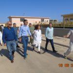 Τις εγκαταστάσεις του βιολογικού καθαρισμού επισκέφθηκε ο Κώστας Μπακογιάννης