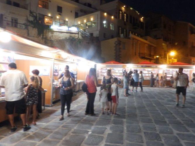 Από 7 έως 18 Αυγούστου, η 7η έκθεση βιβλίου στο Ενετικό λιμάνι των Χανίων