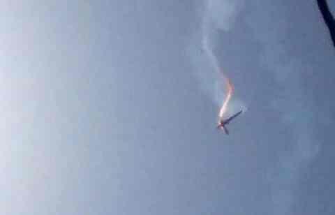 Η στιγμή της κατάρριψης αμερικανικού drone από το Ιράν
