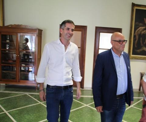 Στα Χανιά ο Κώστας Μπακογιάννης. Συναντήθηκε με τον Τάσο Βάμβουκα και στελέχη του δήμου