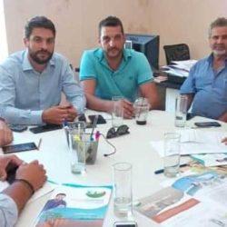 Με εκπροσώπους φιλοζωικών σωματείων συναντήθηκε ο εκλεγμένος δήμαρχος Χανίων Παν. Σημανδηράκης