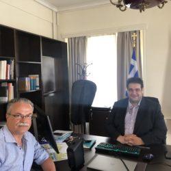 """""""Κλεισθένης"""" και """"Φιλόδημος"""", στην συνάντηση Μαλανδράκη με τον νέο υφυπουργό Εσωτερικών"""