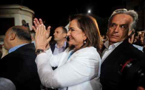Ντόρα Μπακογιάννη: Μία μεγάλη νίκη, προσωπική του Κυριάκου Μητσοτάκη