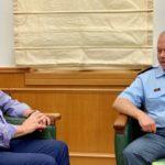 Πρώτη συνάντηση του Περιφερειάρχη με τον νέο Γενικό Αστυνομικό Διευθυντή Κρήτης
