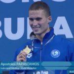 Συγχαρητήρια Αρναουτάκη, στον χανιώτη κολυμβητή Απόστολο Παπαστάμο για το χρυσό στην Βουδαπέστη