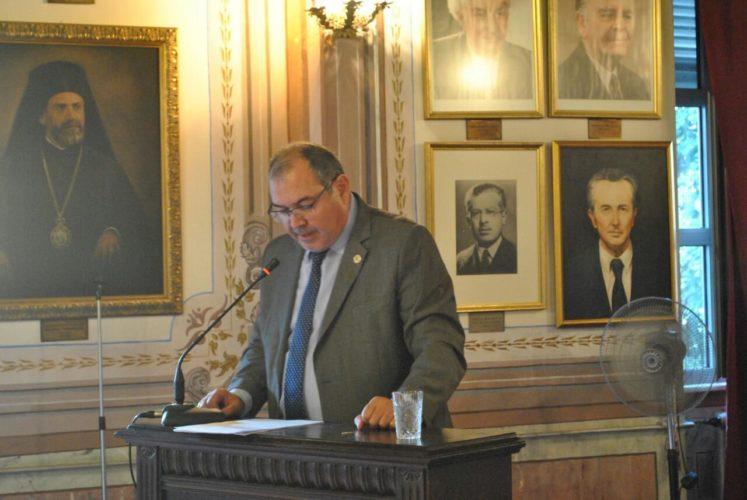 Ο Γενικός Διευθυντής της ΟΑΚ  σε επιστημονικό συνέδριο στη Χάλκη