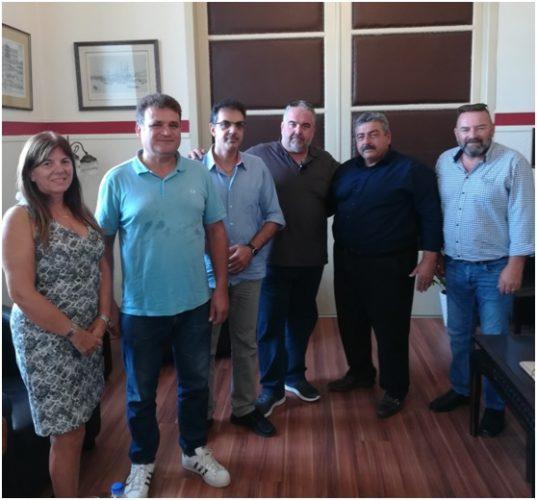Αντιπροσωπεία της ΟΕΒΕ Χανίων συναντήθηκε με τον αντιπεριφερειάρχη Χανίων