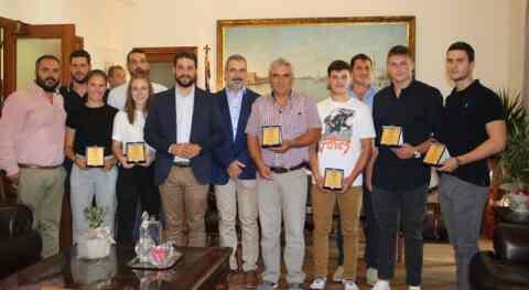 Συνάντηση Δημάρχου Χανίων, Π. Σημανδηράκη, με Χανιώτες αθλητές και αθλήτριες, που διαπρέπουν σε παγκόσμιο επίπεδο