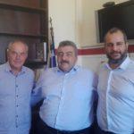 Τον νέο αντιπεριφερειάρχη Χανίων επισκέφθηκε ο πρόεδρος του ΕΒΕΧ