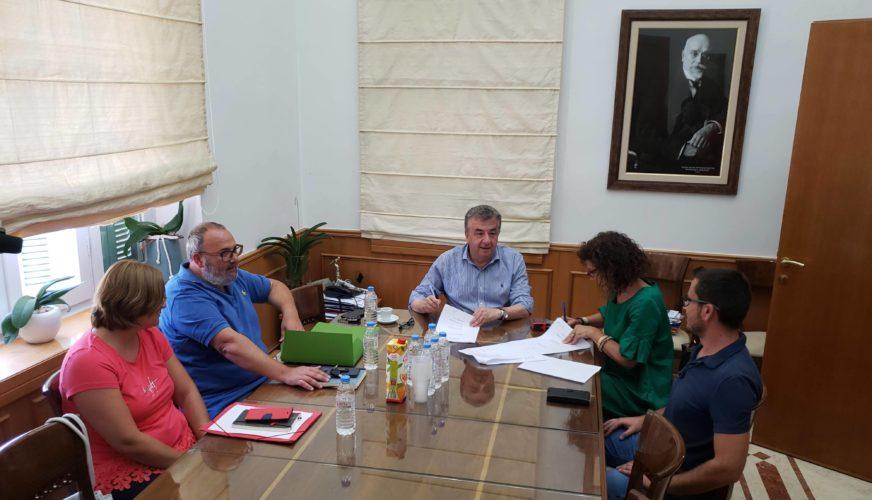 Έργο στον Αποκόρωνα, το πρώτο που υπέγραψε ο Στ.Αρναουτάκης κατά τη νέα θητεία