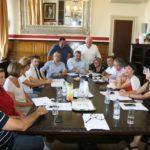 Τα αντιπλημμυρικά έργα στον Πλατανιά, συζητήθηκαν σε σύσκεψη στην Αντιπεριφέρεια