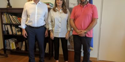 Με τον χανιώτη Γ.Γ. του ΕΟΤ συναντήθηκε ο πρόεδρος του ΕΒΕ Χανίων