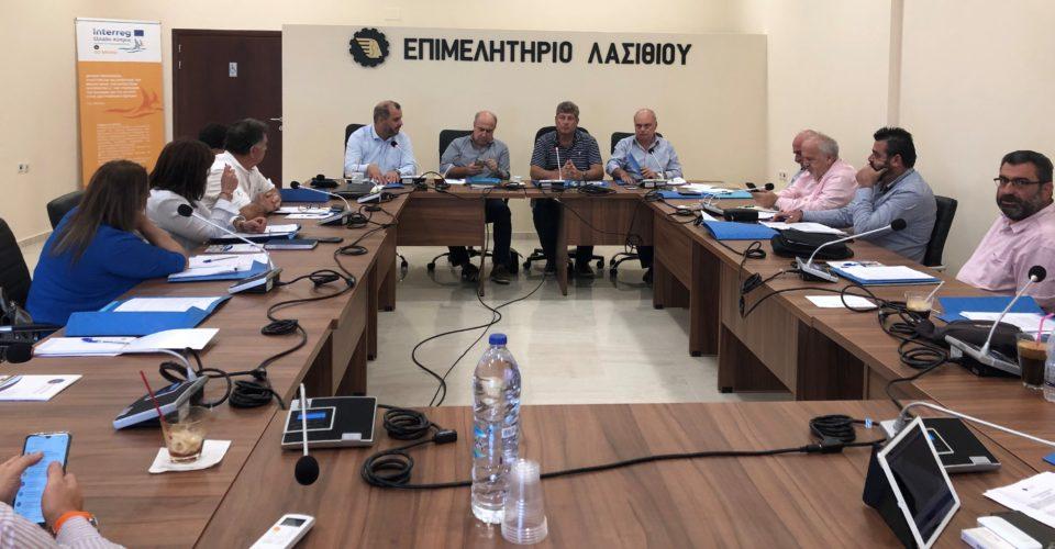 Με πλούσια επιχειρηματική ατζέντα συνεδρίασε το Περιφερειακό Επιμελητηριακό Συμβούλιο Κρήτης στον Άγιο Νικόλαο