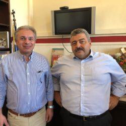 """Συνάντηση στην Αντιπεριφέρεια για το διεθνές συνέδριο των """"Πολιτιστικών Διαδρομών"""""""