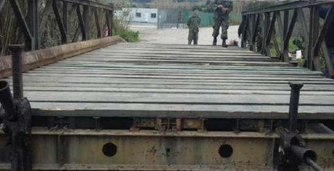Κλειστός Τρίτη και Τετάρτη ο δρόμος Πλατανιάς-Αλικιανός για την απομάκρυνση της γέφυρας bailey στο Πατελάρι