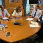 Στο υπουργείο Υποδομών και Μεταφορών η Ν. Μπακογιάννη για θέματα του νομού Χανίων
