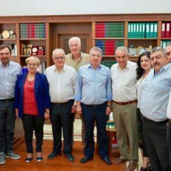 Στ. Αρναουτάκης: «Δυναμική ομάδα, με όρεξη για δουλειά». Ορίστηκαν οι νέοι Αντιπεριφερειάρχες