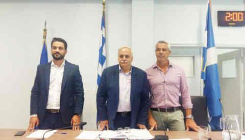 Ο Ευτύχης Δαμιανάκης ο νέος Πρόεδρος του Δημοτικού Συμβουλίου Χανίων