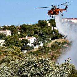 Υψηλός ο κίνδυνος πυρκαγιάς σήμερα στην Κρήτη