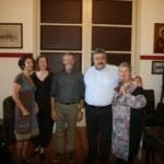 Ευχές από τον σύνδεσμο φιλολόγων Χανίων στον Αντιπεριφερειάρχη, για καλή επιτυχία