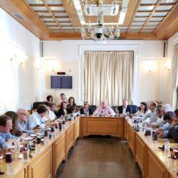 Ενημερωτική συνάντηση για τα εκτελούμενα έργα στη Περιφέρεια Κρήτης