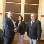 Επίσκεψη της πρέσβειρας της Σλοβακίας, στον Νίκο Καλογερή
