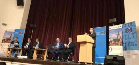 """Ο πρόεδρος του EHICA συμμετείχε στο 9ο forum """"Πολιτιστικές διαδρομές"""" του συμβουλίου της Ευρώπης"""