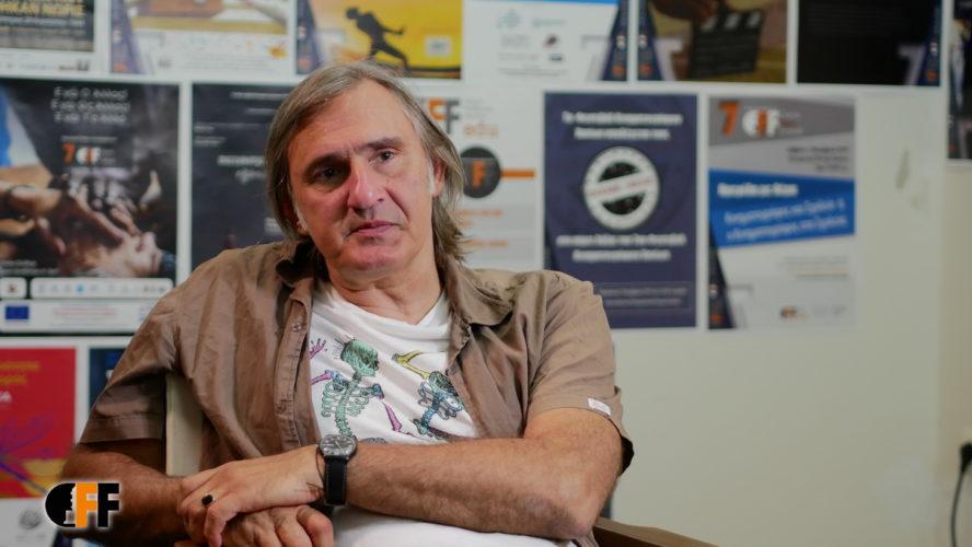 Ο γνωστός ηθοποιός Άκης Σακελλαρίου στο 7ο Φεστιβάλ Κινηματογράφου