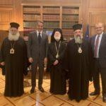 Τον Κυριάκο Μητσοτάκη επισκέφθηκαν οι ιεράρχες της Κρήτης