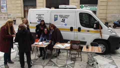 Δωρεάν αντιγριπικός εμβολιασμός και ενημέρωση από την κινητή μονάδα του ΔΟΚΟΙΠΠ