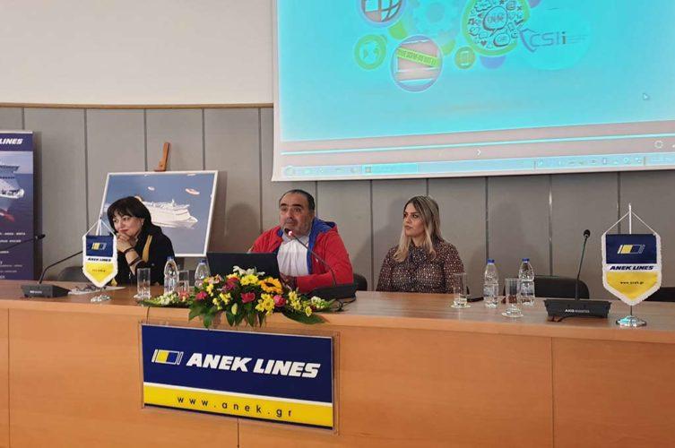 500 μαθητές παρακολούθησαν την ημερίδα για την κυβερνοασφάλεια με τον Μανώλη Σφακιανάκη