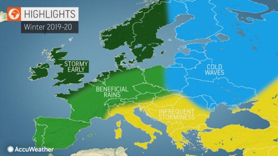 Πως προβλέπουν τον επερχόμενο χειμώνα στα Βαλκάνια, τα μακροπρόθεσμα προγνωστικά μοντέλα