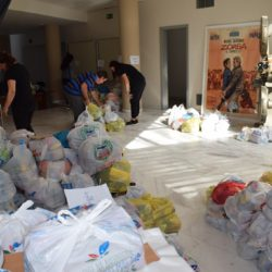 Διανομή τροφίμων σε κοινωνικές δομές των Χανίων από το Φεστιβάλ Κινηματογράφου