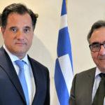 Με τον υπουργό Ανάπτυξης συναντήθηκε ο πρόεδρος της Τράπεζας Χανίων