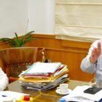 Συνάντηση Αρναουτάκη με τη νέα Διοίκηση της 7ης Υγειονομικής Περιφέρειας