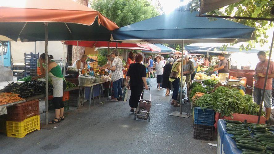 Λαϊκές αγορές: Άδειες με ηλεκτρονικές διαδικασίες, έλεγχοι και point system