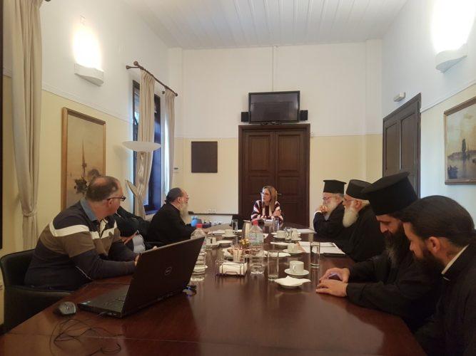 Με εκπροσώπους της Κρητικής Εκκλησίας συναντήθηκε η συντονίστρια της Αποκεντρωμένης διοίκησης