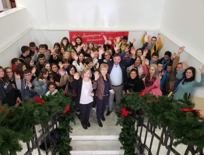 Ευρωπαίοι μαθητές του ERASMUS+ στη Περιφέρεια Κρήτης