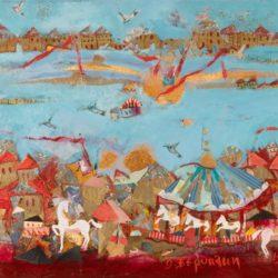 Έκθεση έργων της Όλγας Βερυκάκη, στην αίθουσα Τέχνης Μυλωνογιάννη