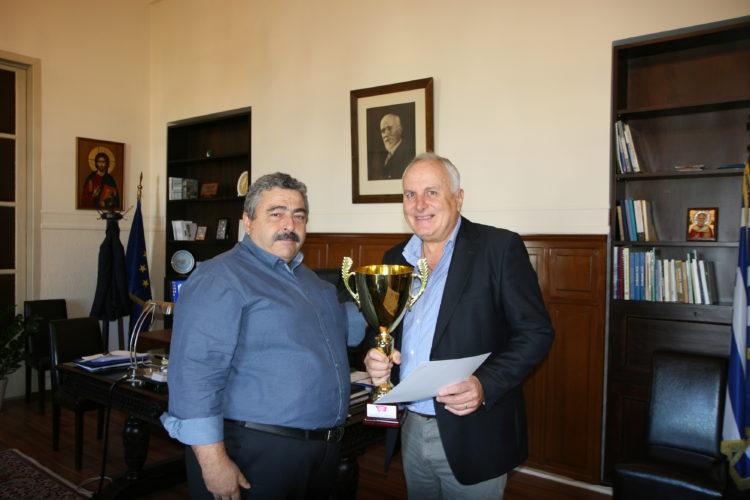 Τιμήθηκε η προσφορά της Άννας Ντουντουνάκη στον Χανιώτικο και Ελληνικό αθλητισμό