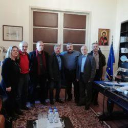 Αντιπροσωπεία του ΣΕΓΑΣ στην αντιπεριφέρεια Χανίων, για τα Βενιζέλεια στίβου