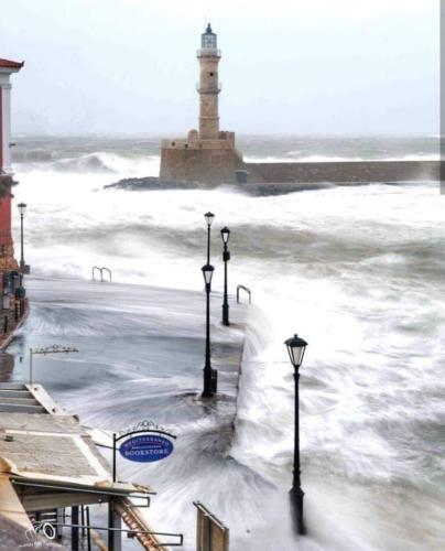 Ισχυρά φαινόμενα και πάλι στην Κρήτη. Που έβρεξε και που φύσηξε περισσότερο