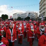 Santa Run 2019: Χιλιάδες Άγιοι Βασίληδες κατέκλυσαν και φέτος τα Χανιά